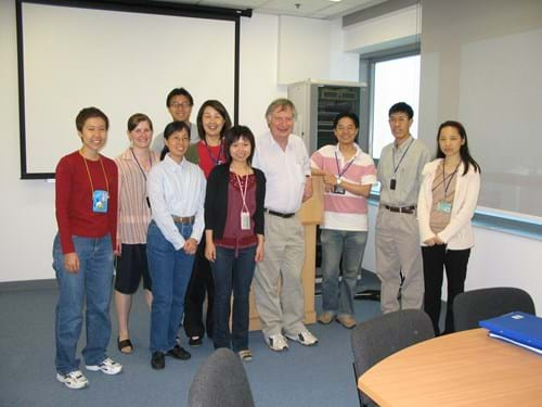 Tony with members of HKU Microbiological Emergency Response Team (MERT)